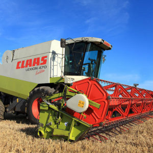 Combine Harvesters & Attachments